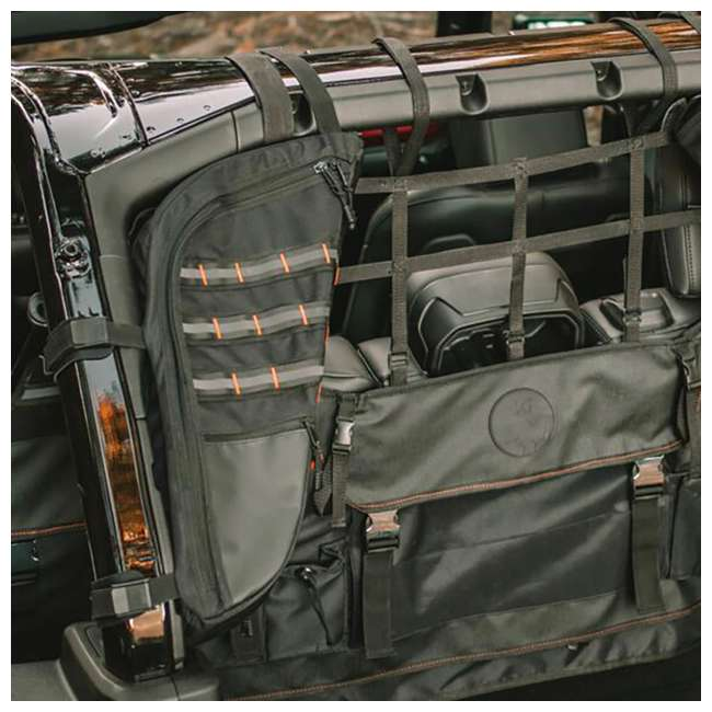 XG-301 XG Cargo XG-301 Jeep Wrangler JK & JL Sportsman Cargo Management Tool, Black 3