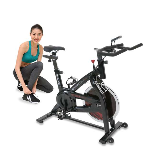 STRATUM GS II Stratum GS Stationary Indoor Cardio Exercise Fitness Cycling Cycle Bike 3