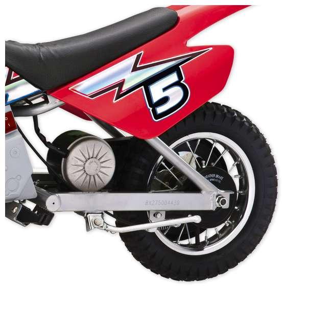 15128095-U-A Razor MX350 Dirt Rocket 24V Electric Motorcycle Bike - Red (Open Box) (2 Pack) 4