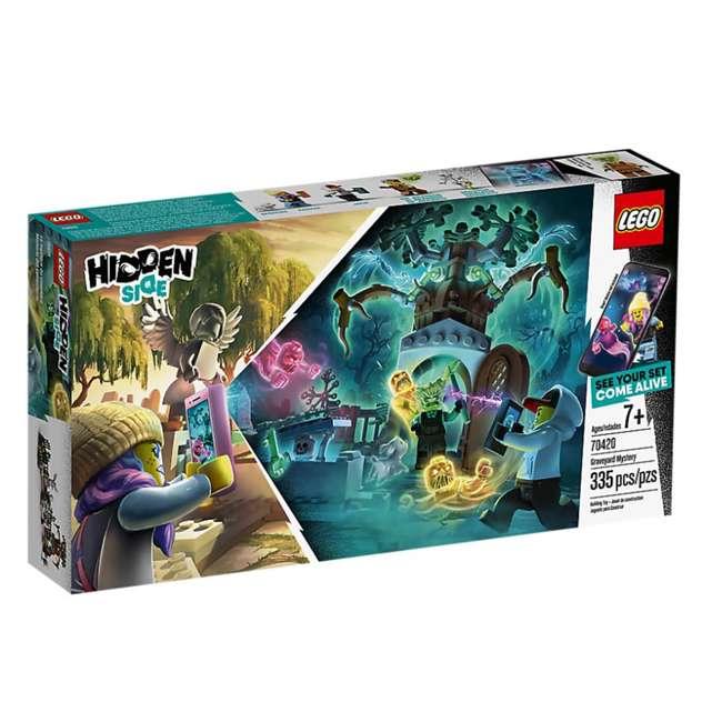 6250495 LEGO 70420 335 Piece Hidden Side Graveyard Mystery Kids Building Blocks Kit 1