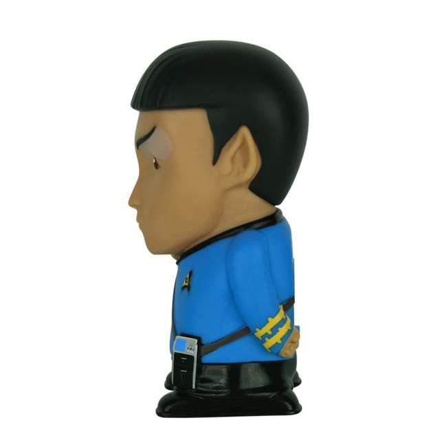 FT-SPK-U-B Fametek Star Trek Mr. Spock 6-Inch Wireless Bluetooth Speaker w/ 9 Quotes (Used) 3