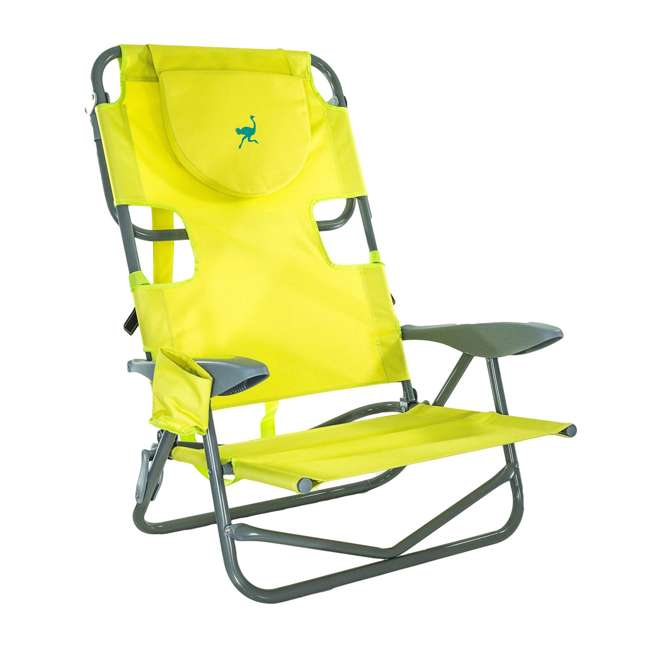 OYB-1003G Ostrich On-Your-Back Reclining Lounge Beach Chair 1