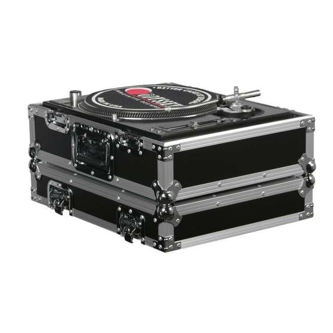 FR1200E-U-A Odyssey FR1200E Flight Ready DJ Equipment Turntable Transport Case (Open Box) 2