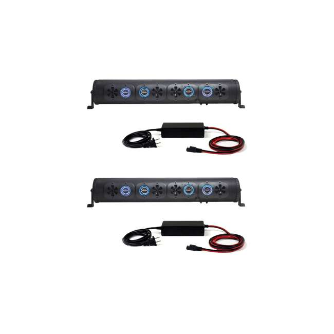 BPB36-G2 Bazooka BPB36-G2 450W BT G2 Party Bar Speaker System (2 Pack)