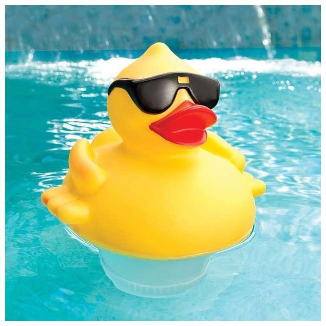 Game Solar Light Up Duck Swimming Pool Chlorinator 8002