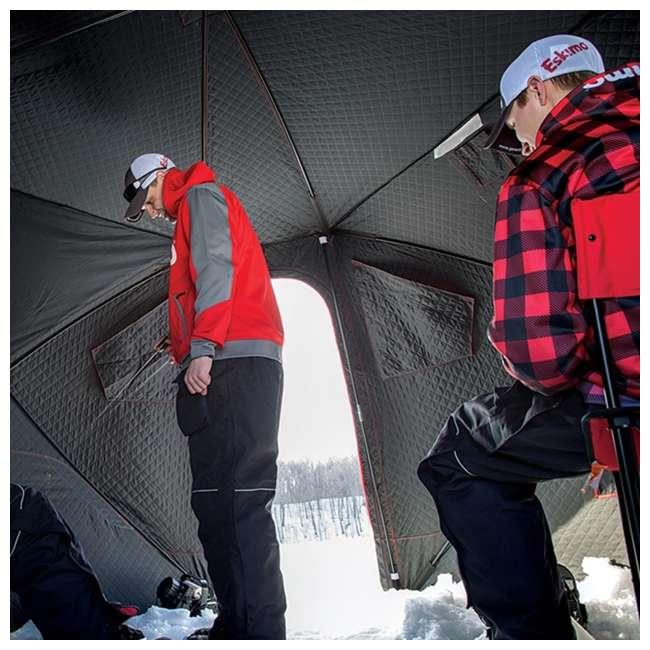 ESK-32100 Eskimo 32100 Outbreak 450i 5-Person Insulated Ice Fishing Shelter 4