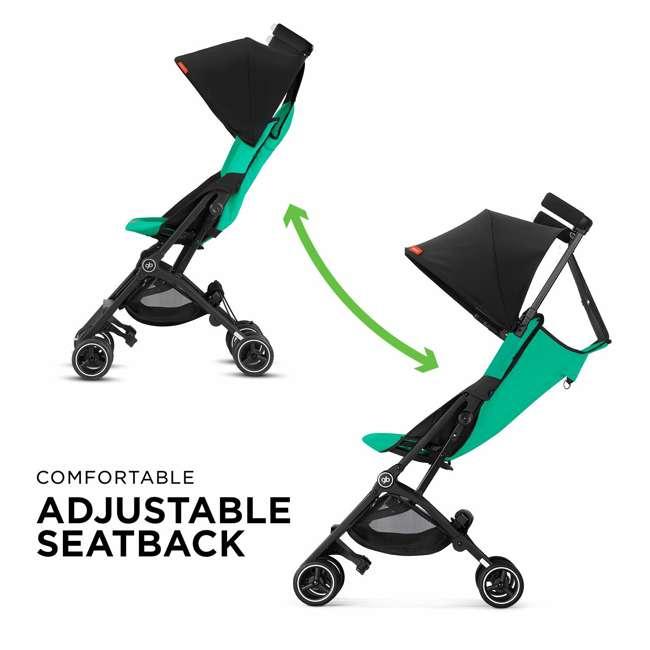 619000531 GB Gold Pockit Plus Lightweight Folding All Terrain Infant Stroller, Night Blue 2