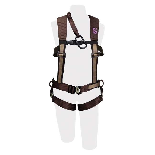 83084-WOMENS-PRO-MED/LRG-U-A Summit Women's Pro Safety Harness, Medium 2