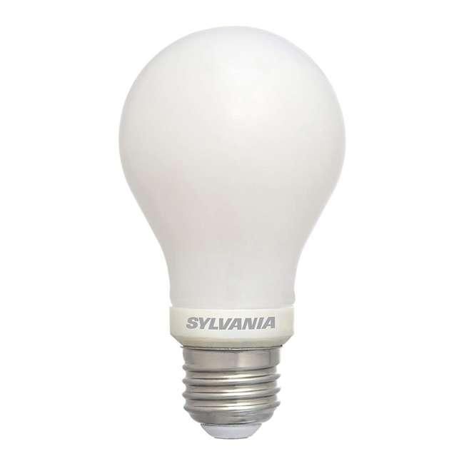 SYL-40193-4PK Sylvania 40 Watt Equivalent LED Energy Saving Light Bulb in Soft White (8 Bulbs) 1