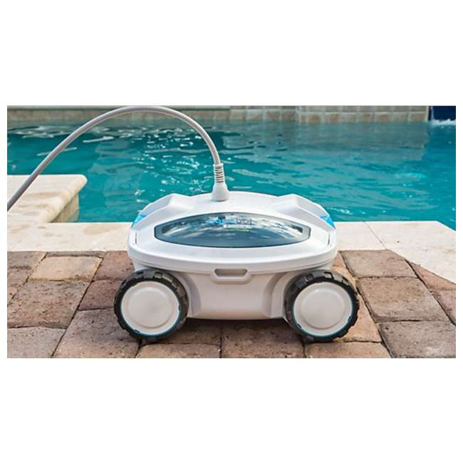 Aquabot breeze xls in ground or above ground robotic for Swimming pool design xls