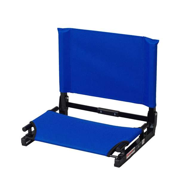 SC2-ROYAL Stadium Chair Game Changer Bleacher Seat, Royal Blue