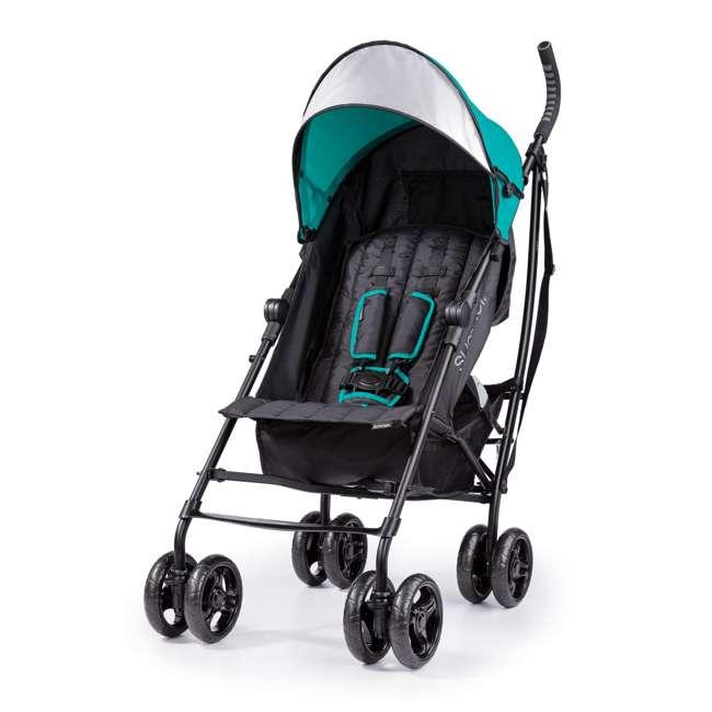 32693 Summer Infant 3Dlite Lightweight Folding Convenience Toddler Baby Stroller, Teal 2
