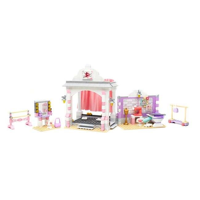 DPK86 Mattel Mega Bloks American Girl Isabelle's Ballet Recital Set 2