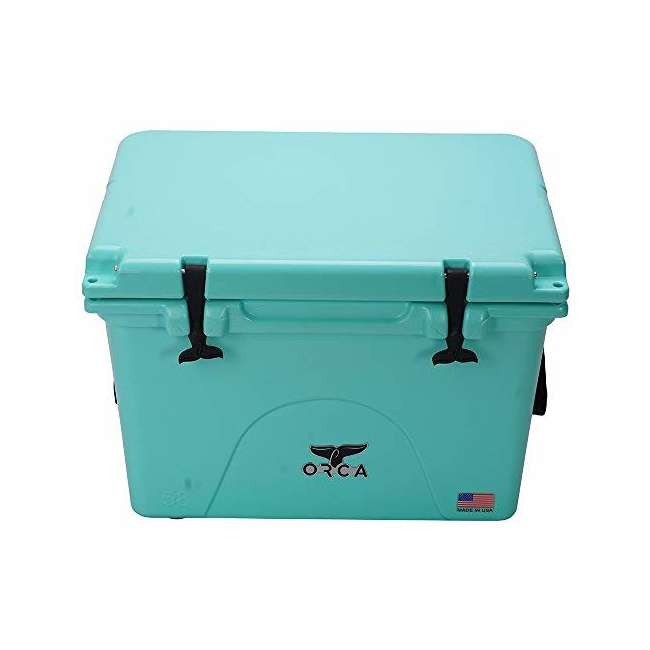 ORCSF058 Orca ORCSF058 58 Quart 72 Can Roto Molded Insulated Ice Cooler, Seafoam Blue 3