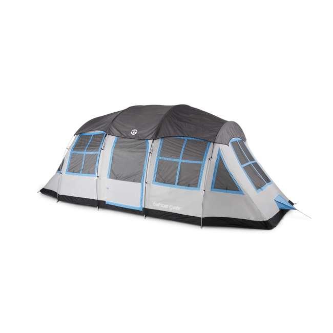 TGT-PRESCOTT-12-C Tahoe Gear Prescott 12 Person 3 Season Instant Outdoor Family Camping Cabin Tent