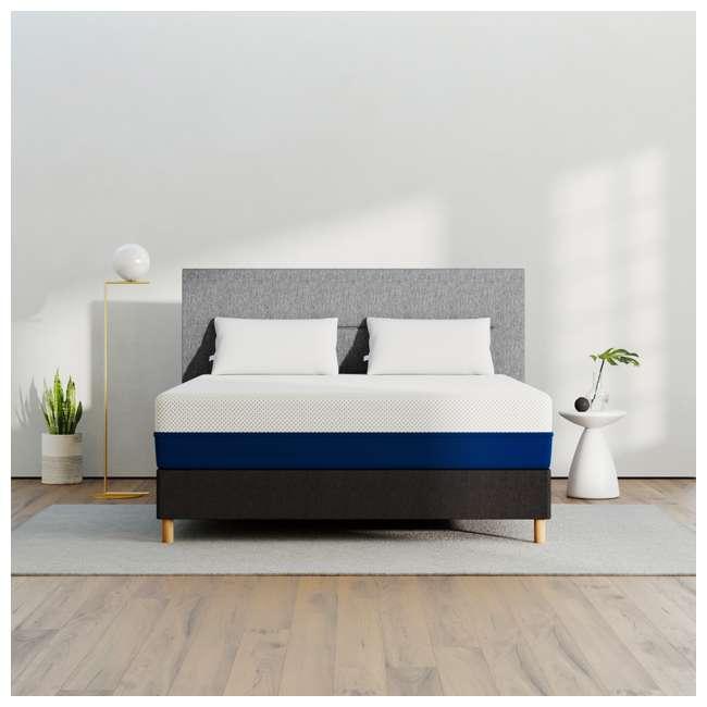 AS3-Q Amerisleep AS3 Medium Blended Firm/Soft Memory Foam Luxury Bed Mattress, Queen