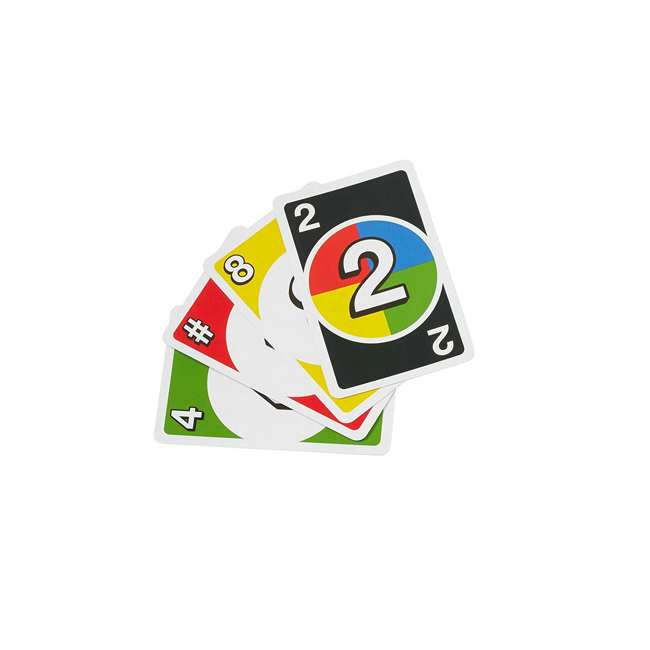 FRM36 Mattel UNO DOS Kids Multiplayer Card Game (2 Pack) 2