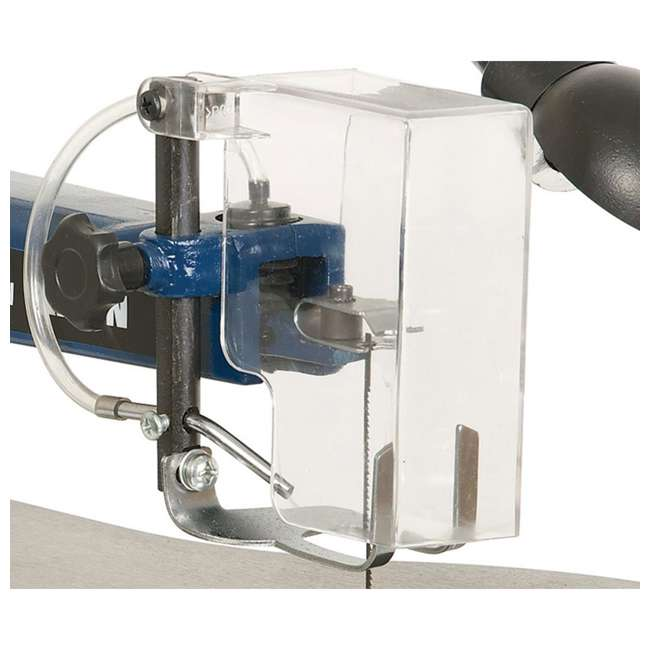10-600VS RIKON 10600VS Tools 16 Inch Variable Speed Scroll Power Saw with Lamp, Blue 2