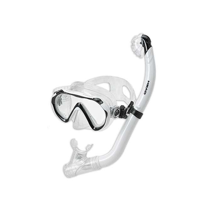 480315-SFORCLXL-U-B HEAD Sea Pals Jr. Kid's Orca Snorkeling Swim Set, Large/Extra Large (Used) 3