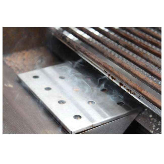 BOPA-24112 Bull Stainless Steel Gas Grill V-Shaped Smoker Box 1