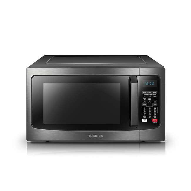 EC042A5C-BS 1.5 Cubic Foot Compact Convection Microwave Oven, Black 2