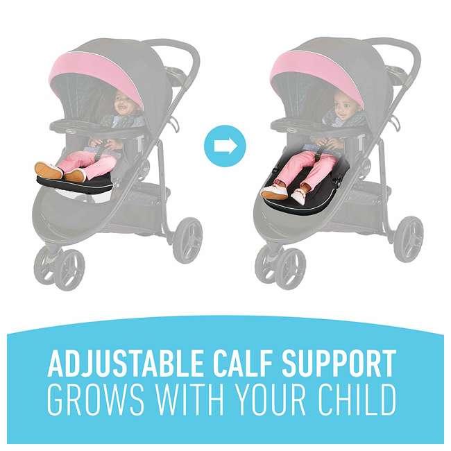 2081084 Graco Modes 3 Lite DLX Baby Stroller & Infant Car Seat Travel System, Arbis Pink 8