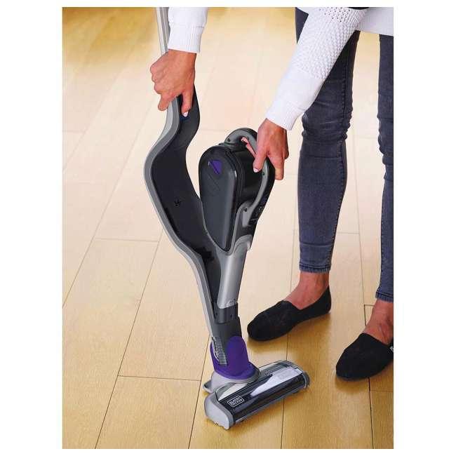 HSVJ415JMPA07 Black And Decker SmarTech 20-Volt 2-In-1 Cordless Pet Hair Vacuum 7