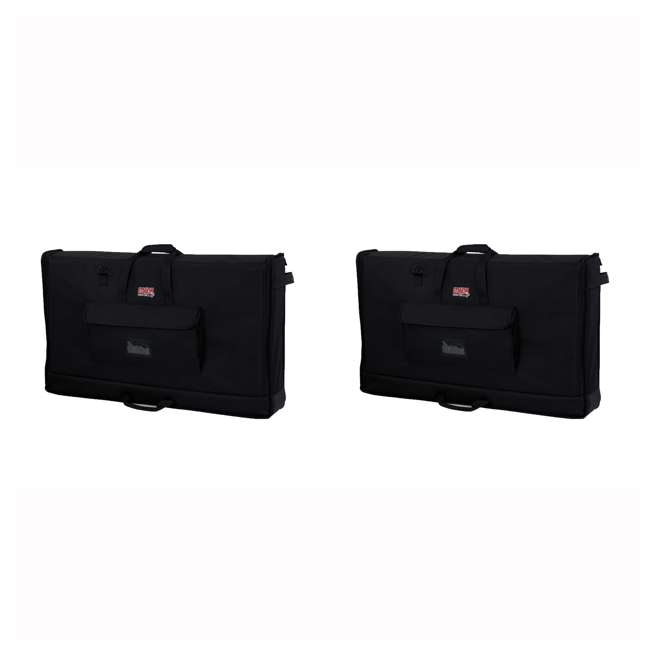 G-LCD-TOTE-MD Gator Cases Medium Padded LCD Screen Transport Bag (2 Pack)