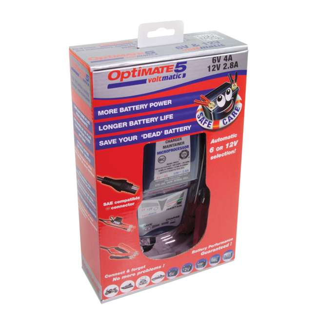 TM-223 TecMate OptiMATE 5 VoltMatic Battery Saver & Charger 2