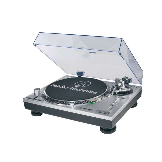 AT-LP120-USB-OB Audio Technica Direct Drive Professional USB and Analog Turntable