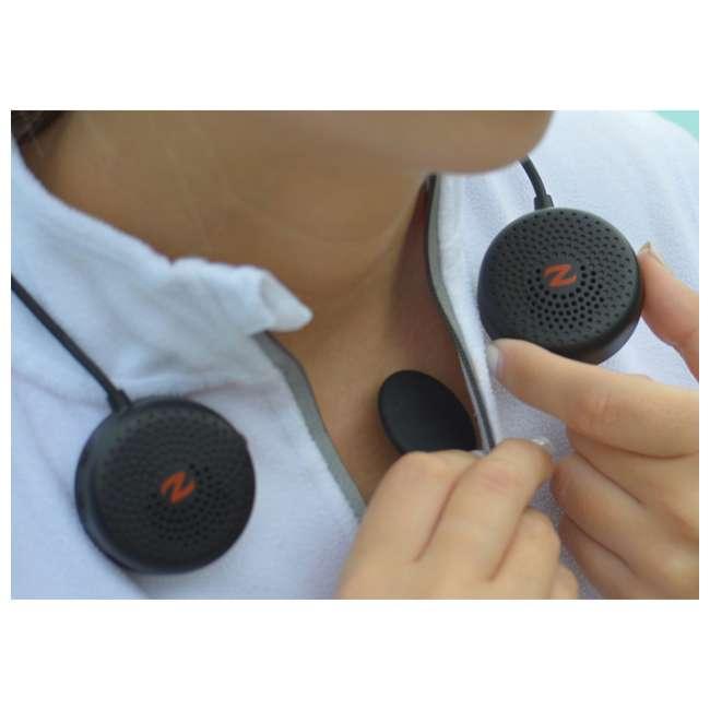 1201-OB Zulu Audio Wearable Bluetooth Personal Speaker, Black(Open Box) 1