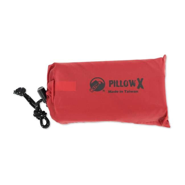 12PXRD01C Klymit Pillow X Soft Inflatable Camping Pillow, Red 4