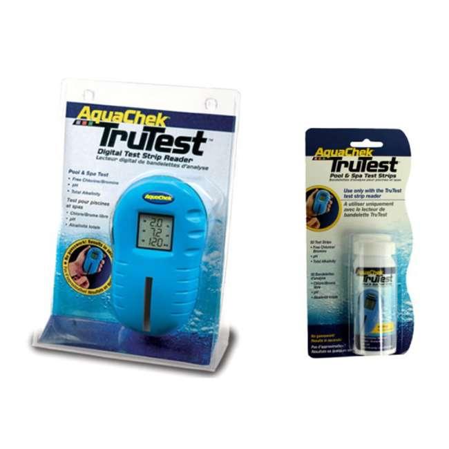 Aquachek 2510400 Trutest Digital Test Strip Reader With
