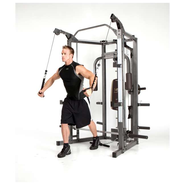 SM-4008 Marcy Combo Smith Strength Home Gym Machine 8