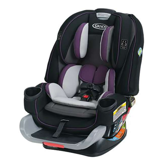2001872 Graco 2001872 4Ever Extend2Fit 4-in-1 Front and Rear Facing Car Seat, Jodie 3