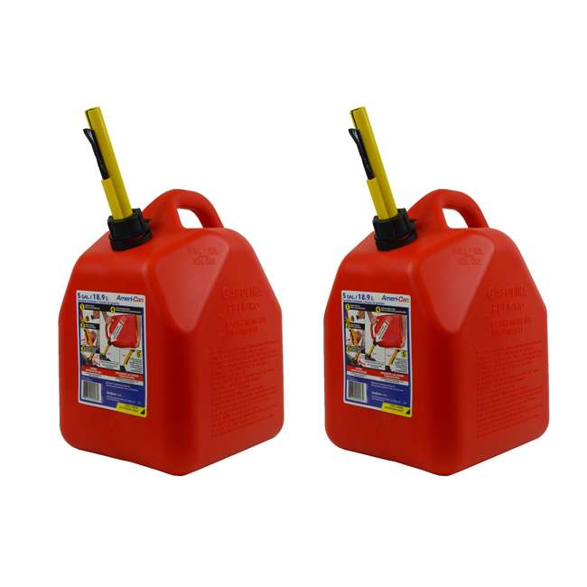 3-SCEPTER Scepter 5-Gallon EPA & CARB-Certified Ameri-Can Gas Can (2 Pack)