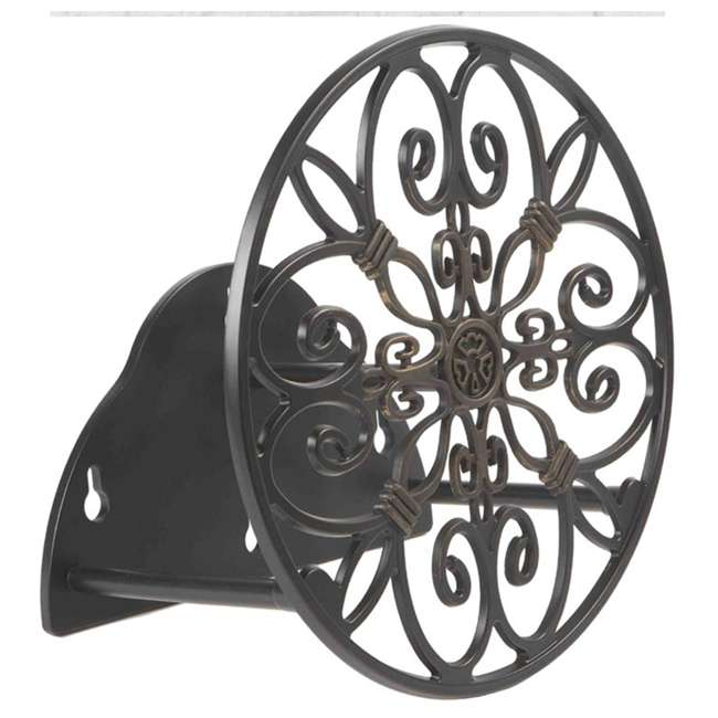 LBG-N-670 Liberty Garden Products Cast Decorative 125 Foot Wall Mount Butler 1