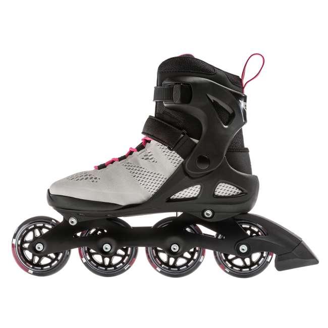 7955300500-6 + 06320200001-M + 067H0310800-L Rollerblade USA Women's Size 6 Rollerblades + Pads + Helmet 2