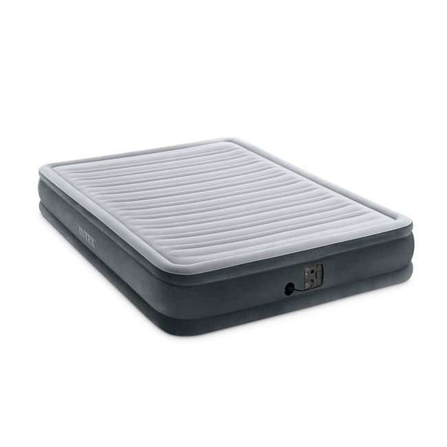 67769EP-U-A Intex Dura Beam Mid Rise Queen Air Mattress w/ Built In Pump (Open Box) (2 Pack) 2
