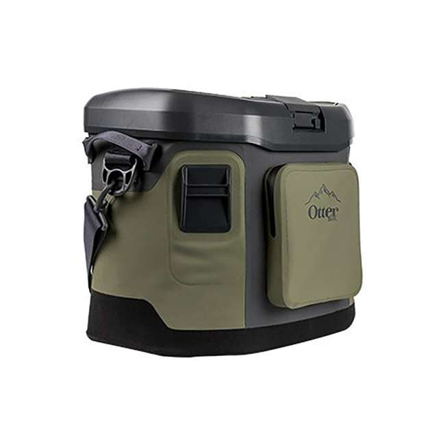 77-57016 OtterBox 20-Quart Softside Trooper Cooler with Carry Strap, Alpine Ascent Green 3