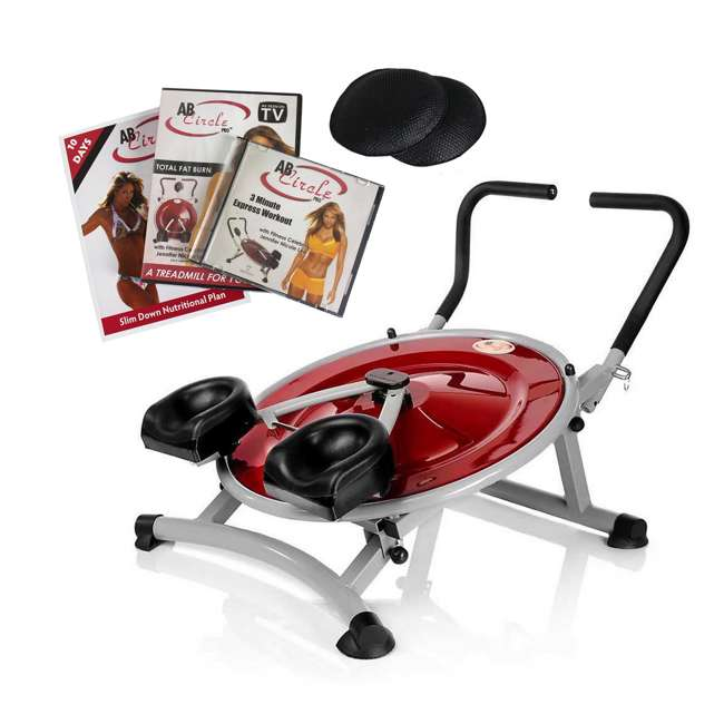 AB-CIRCLE-PRO AB Circle Pro Home Fitness Machine and DVD