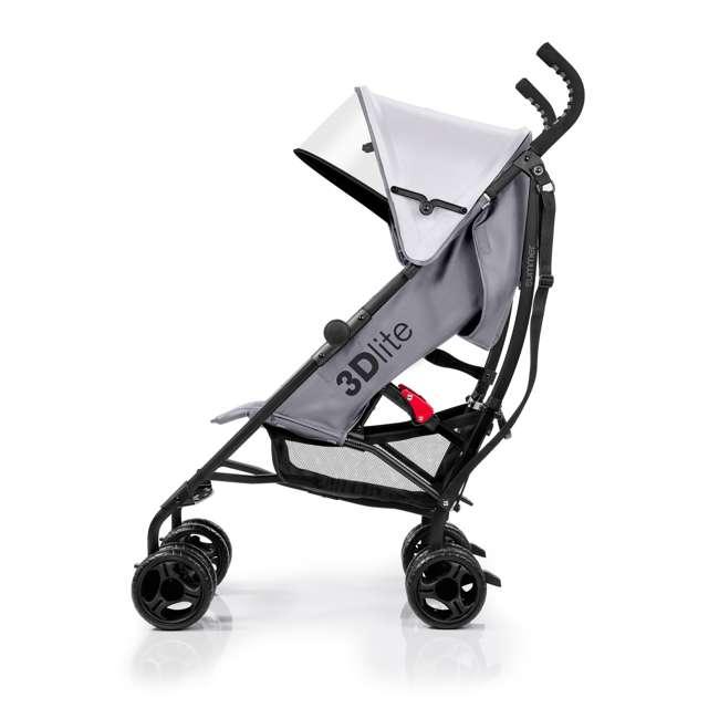32303 Summer Infant 3Dlite Lightweight Folding Convenience Toddler Baby Stroller, Gray 1