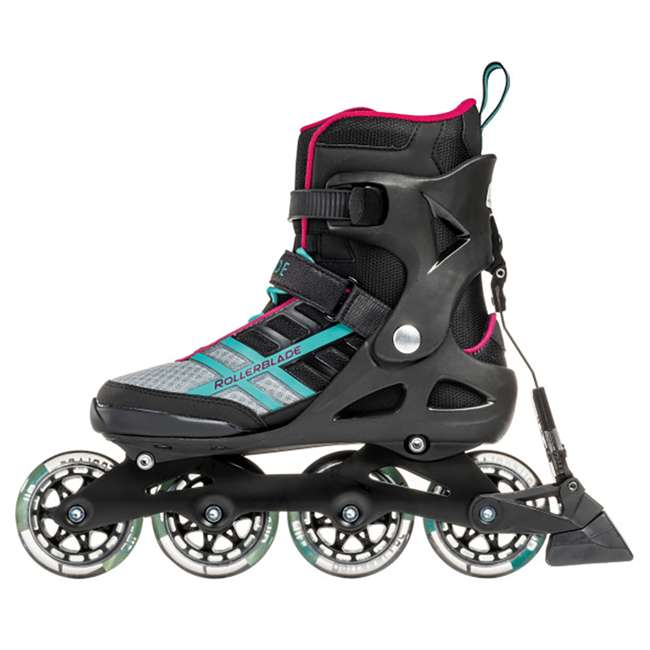 07734500986-6 Rollerblade Macroblade 84 ABT Womens Performance Inline Skates, Emerald Green 5