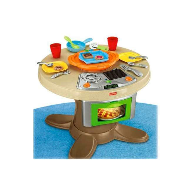Fisher Price Play Kitchen: Fisher Price Servin' Surprsies Cooking Kitchen Play Set