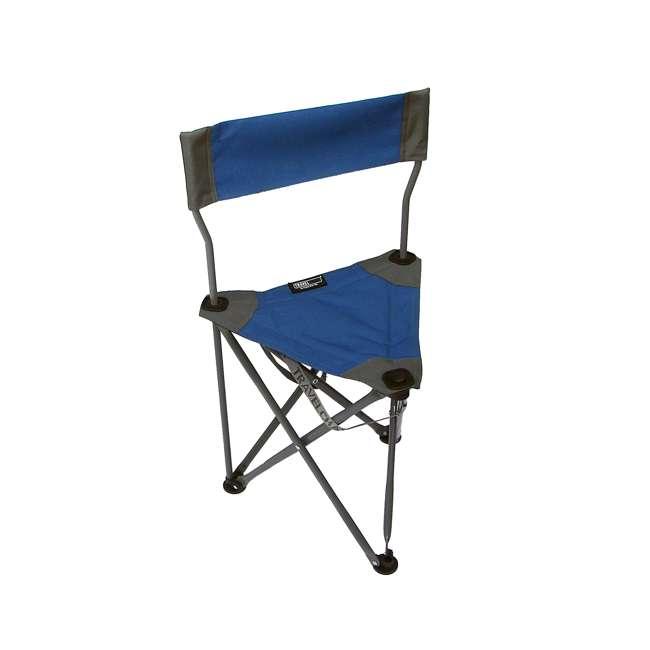 1489V2B TravelChair Ultimate Slacker 2.0 Portable Outdoor Folding Stool Seat, Blue