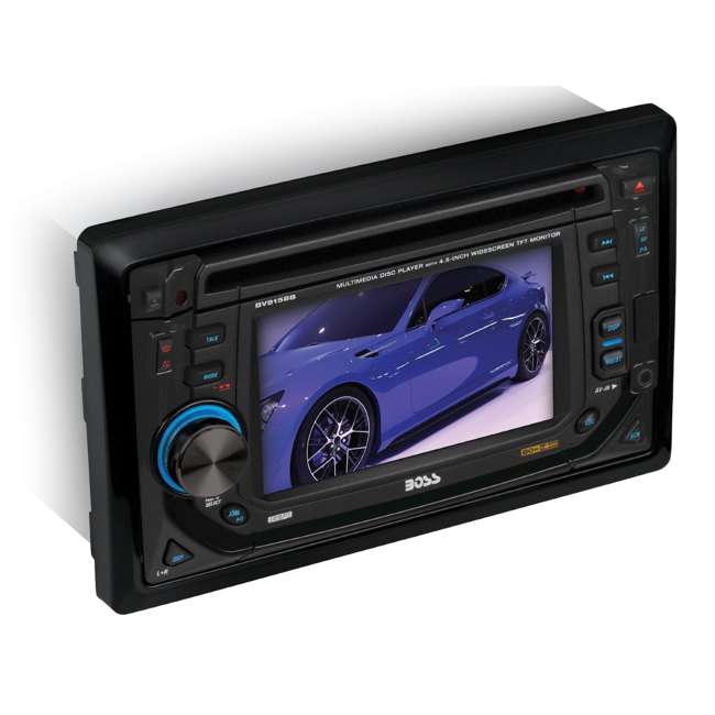 BV9152 Boss BV9152 4.5-Inch TouchScreen DVD/MP3 Player Usb/sd Aux 2