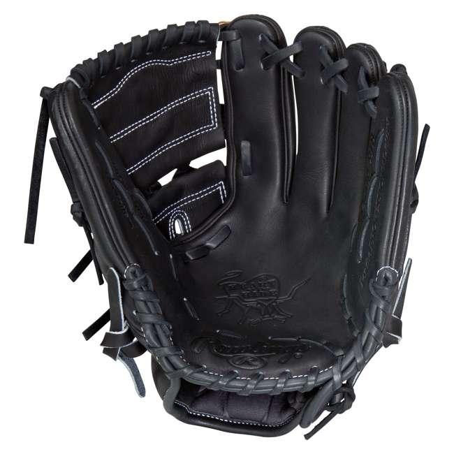 PRO206-9JB Rawlings Heart of the Hide 12-Inch Infield 2-Piece Adult Baseball Glove 2