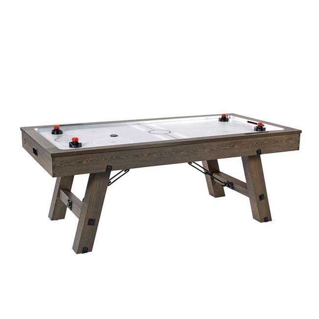 AWH084_108P-U-B Lancaster 84 Inch Air Powered Air Hockey Table with Game Accessories (Used)