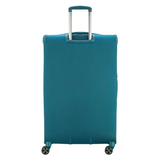"40229183032 DELSEY Paris 29"" Expandable Spinner Upright Hyperglide Luggage Suitcase, Teal 2"