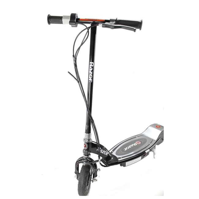 13110097 + 97778 Razor E100 Black Electric Scooter And Razor V17 Youth Helmet 3